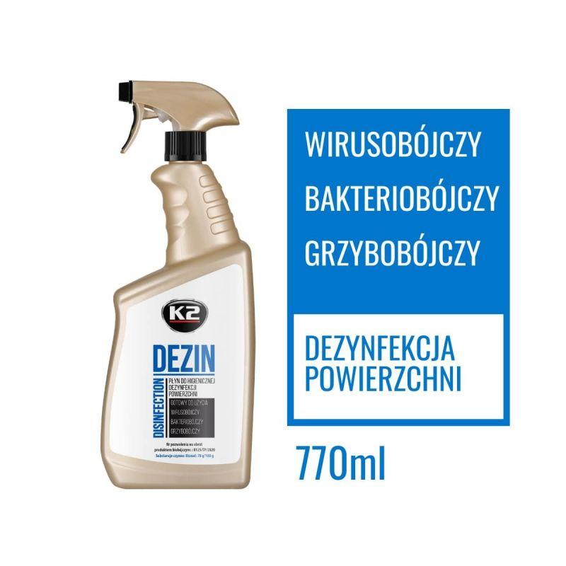 dezynfekcja k2 dezin