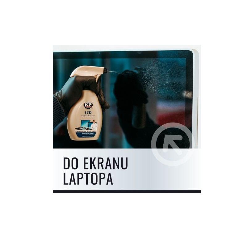k2 lcd czyszczenie laptopa