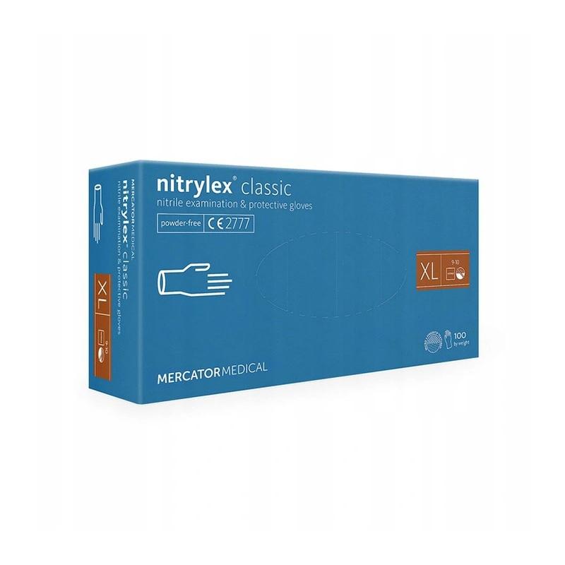 rekawiczki nitrylowe diagnostyczne