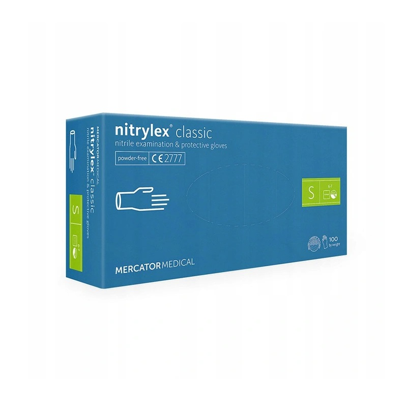 nitrylex rekawiczki s