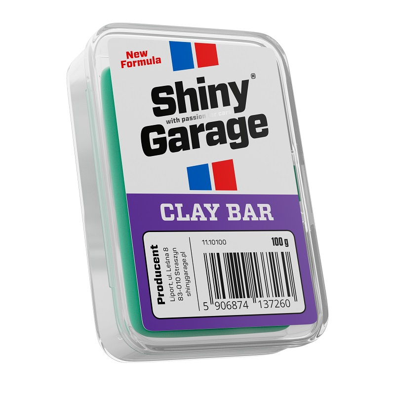shiny garage clay bar glinka do lakieru