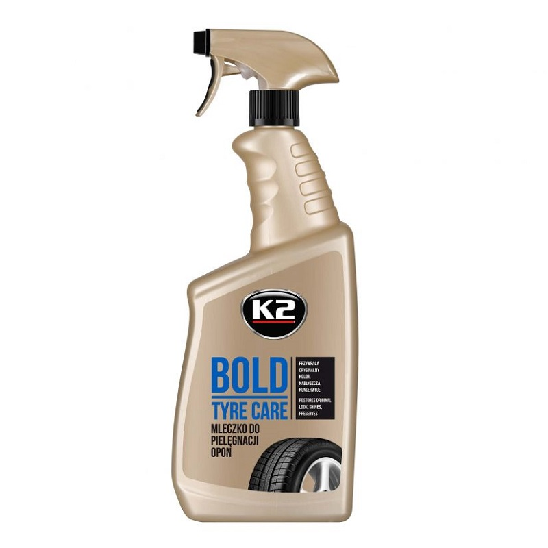 k2 bold plyn do nablyszczania opon