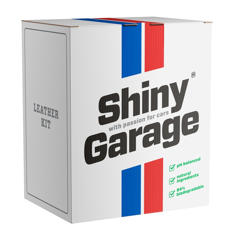 shiny garage leather kit soft zestaw do pielegnacji skory