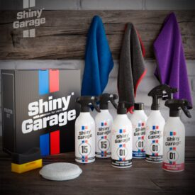 shiny garage starter kit pielegnacji