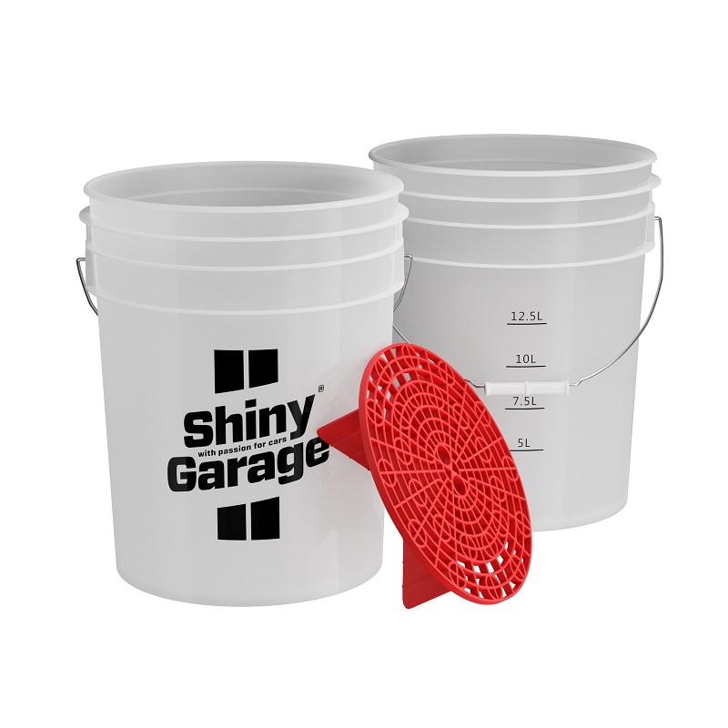 shiny garage wiadro z separatorem