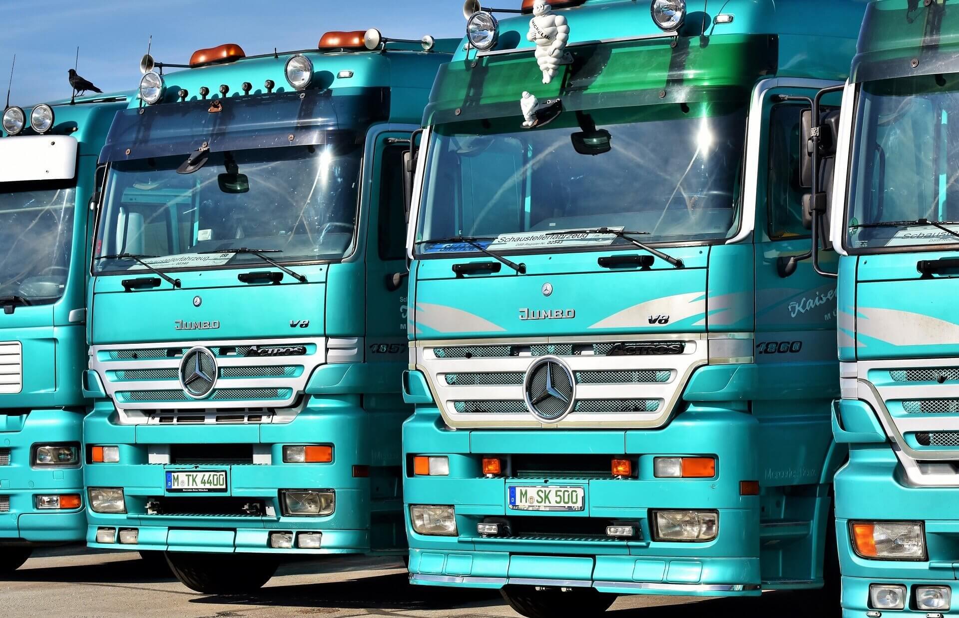 Klej do szyb w samochodach ciężarowych