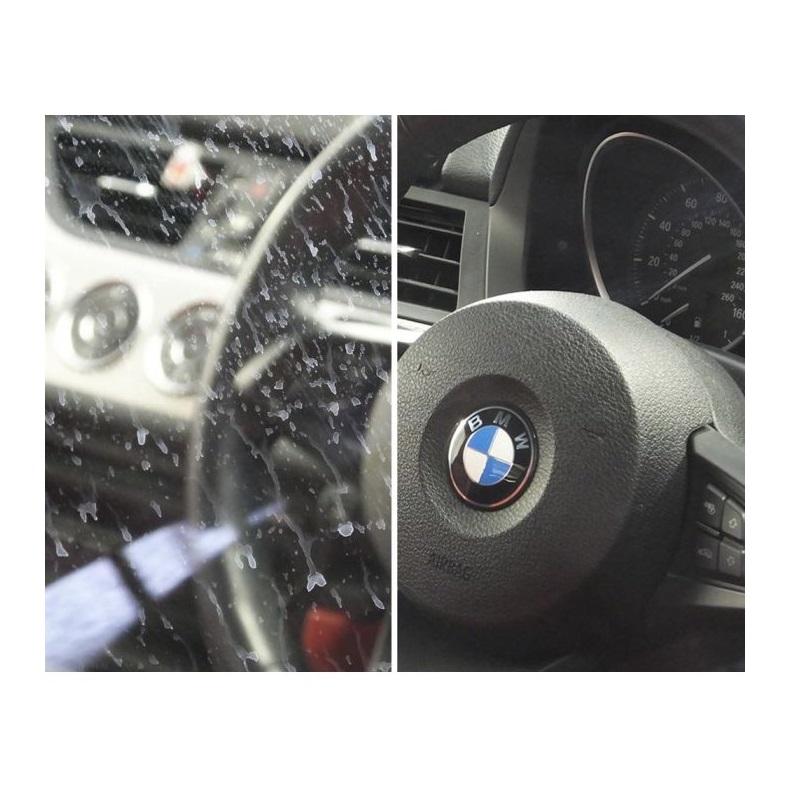 mycie szyby samochodowej