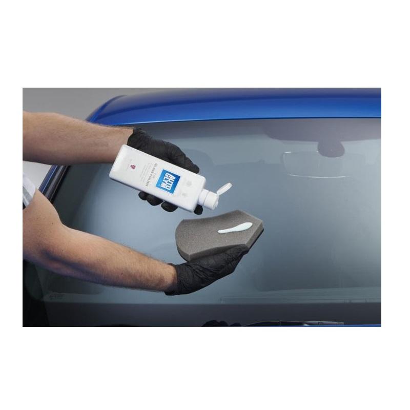 auto glym car glass nakładanie