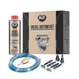 zestaw do czyszczenia wtryskiwaczy k2 diesel dictum